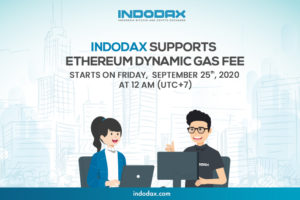 Indodax support etheruem dynamic gas fee