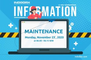 Indodax Maintenance